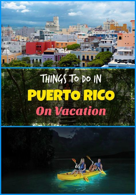 Top things to do in Puerto Rico - explore San Juan, Vieques, Bioluminescent Bay, Culebra Island, El Yunke Rainforest, and other activities and attractions