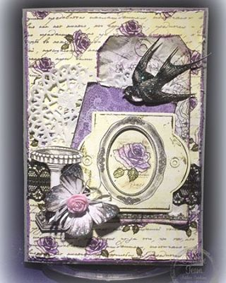 Tracey Cooley created this beautiful all occasion card using our Ultimate Crafts Rambling Rose Collection. So perfect fo...