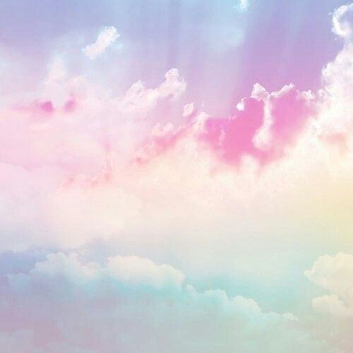 Clouds Rainbow Gradient Ombre Pinterest Rainbows And