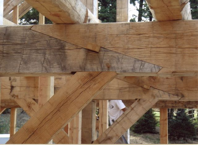 43 best scarf joints images on pinterest woodworking - Pergola japonesa ...