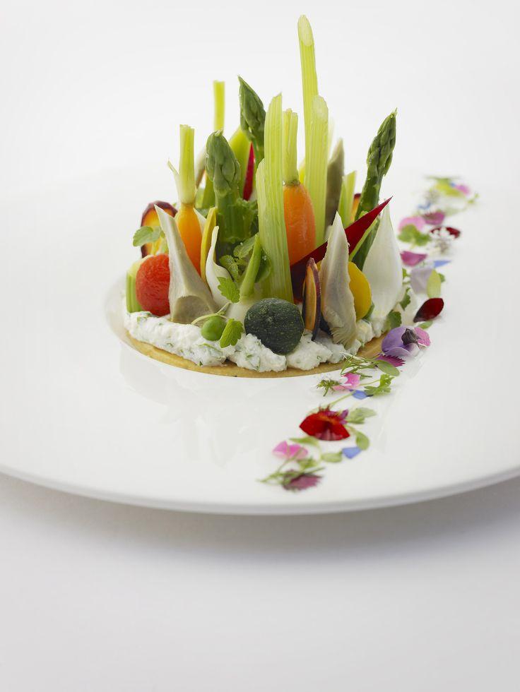 Restaurant le Prieuré Baumanière - Plat