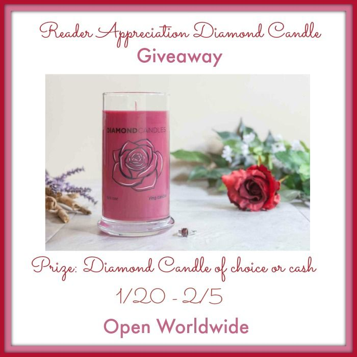Love candles with a surprise inside? Enter to win a Diamond Candle's Ring Candle of YOUR choice here!
