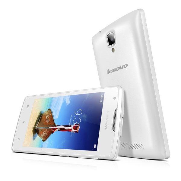 Mobilní telefon Lenovo A1000 DualSIM bílý + dárky