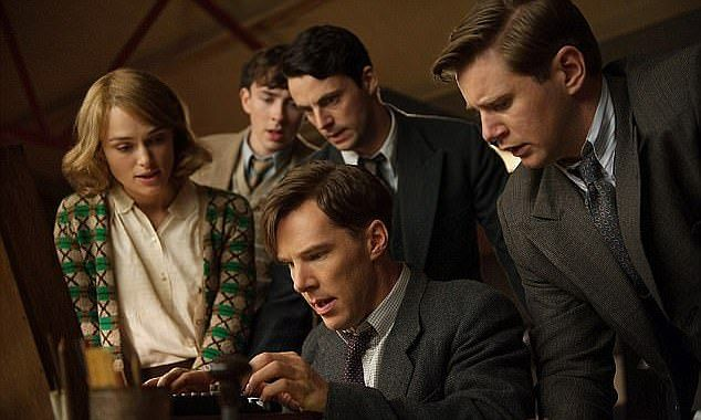 The Bletchley Park codebreakers were brought to life in The Imitation Game starring Benedict Cumberbatch and Keira Knightley