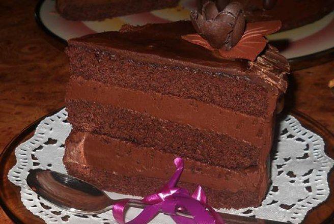 Retete Culinare - Tort de ciocolata