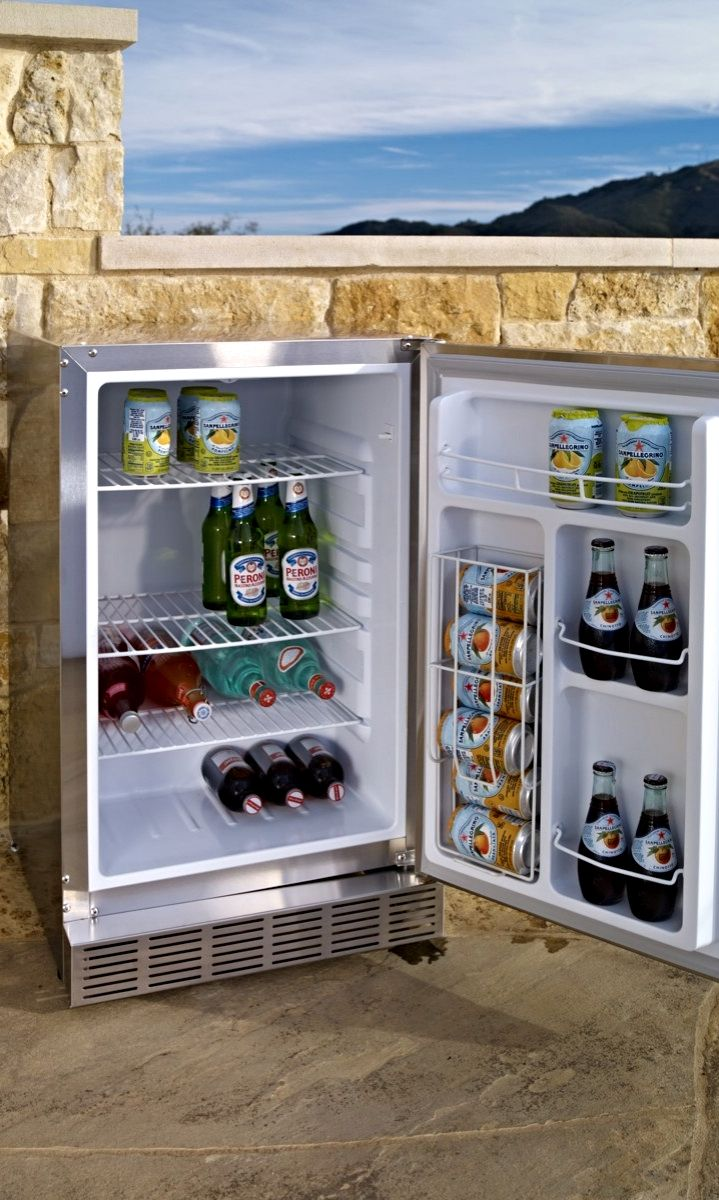 Refrigerator Outdoor Best 25 Outdoor Refrigerator Ideas On Pinterest Outdoor Mini