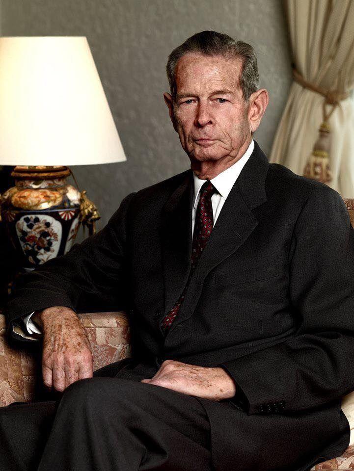 King Micheal I of Romania  , son of Carol II of Romania and Princess helen of Greece