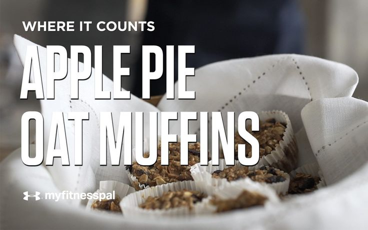 Apple Pie Oat Muffins [Video] | Recipe