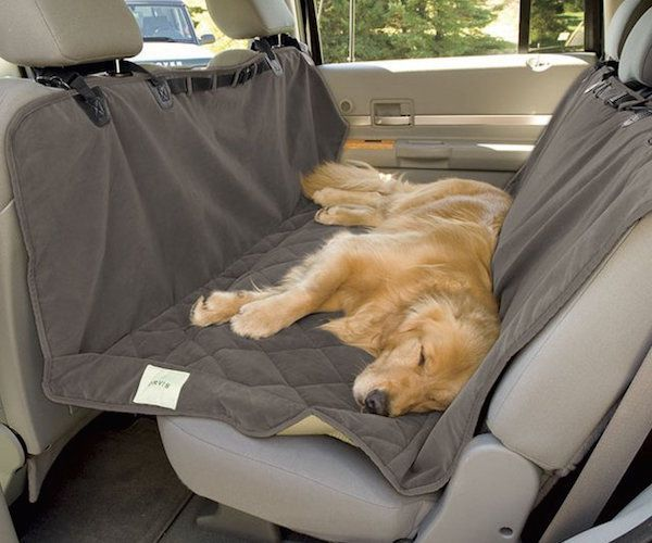 Traveling with your dog? Use this Microfiber Waterproof Pet Car Hammock to let them have some rest in the car.