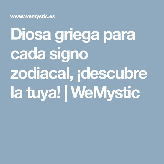 Diosa griega para cada signo zodiacal, ¡descubre la tuya! | WeMystic