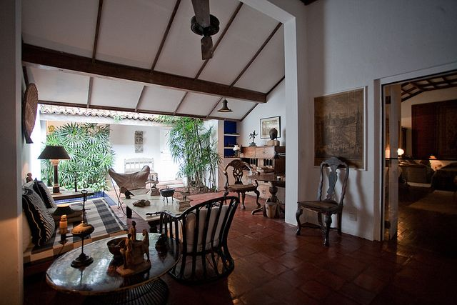 Livingroom in Geoffrey Bawa's house, Colombo by horvath bence, via Flickr