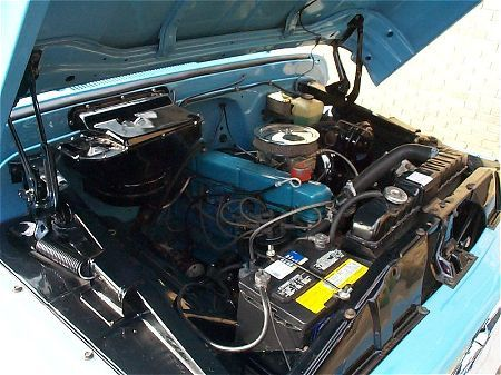 1963 C10 Under Hood 1963 Chevy Truck Pinterest Aga