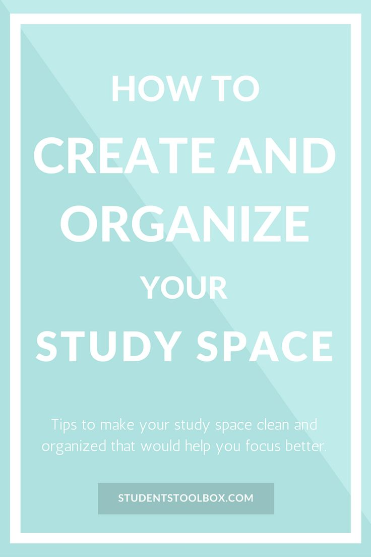Staying organized can definitely save you a lot of time and be more productive. Also check out our FREE study planners at: www.studentstoolbox.com