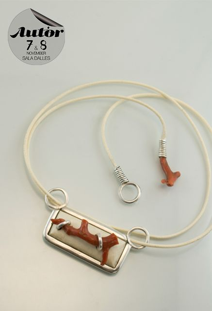 Necklace, Zest, France #AutorFair #contemporaryjewelry #peopleofAUTOR…