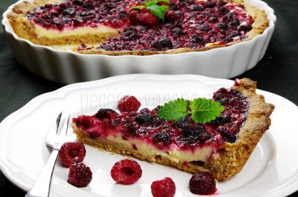 Cheesecake s bobuľovým ovocím