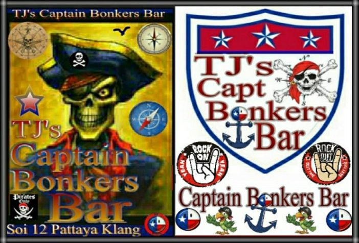 Captain Bonkers bar