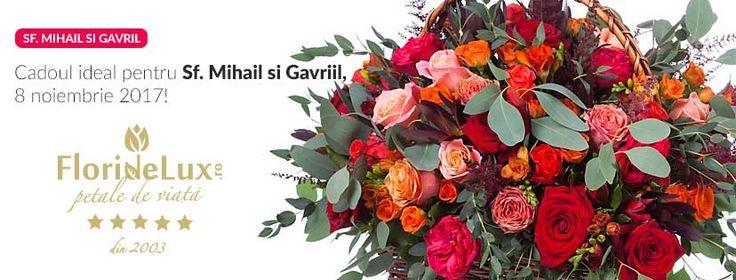 Flori speciale pentru Sfintii Mihail si Gavriil, flori online 8 noiembrie