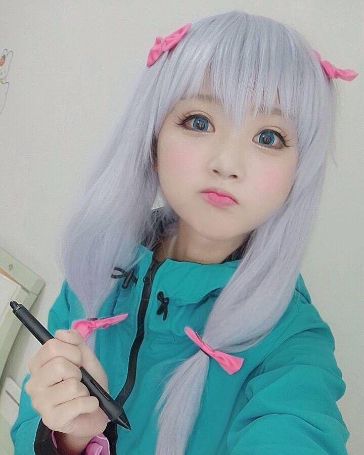 "8,792 lượt thích, 65 bình luận - 小柔SeeU (@xiaorouseeu) trên Instagram: ""Sagiri Izumi of Eromanga Sensei  #SagiriIzumi #EromangaSensei"""