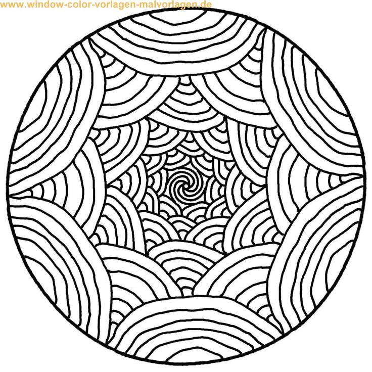 free mandalas page coloring simple rainbows