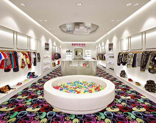 Inspiration for table with glass top and small objects inside- CW Girls?- Lilsnob by Highsnobiety | BAPE KIDS Store Opens in Hong Kong - A Bathing Ape...