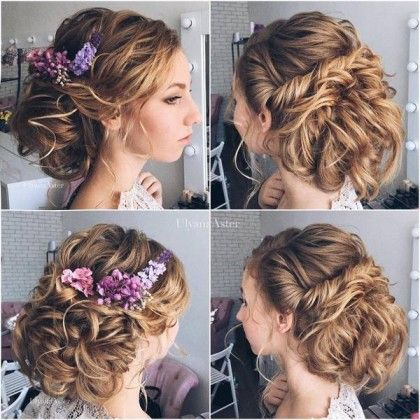 Wedding Updo Hairstyles for Long Hair from Ulyana Aster_19 ❤ See more: http://www.deerpearlflowers.com/wedding-updo-hairstyles-for-long-hair-from-ulyana-aster/2/