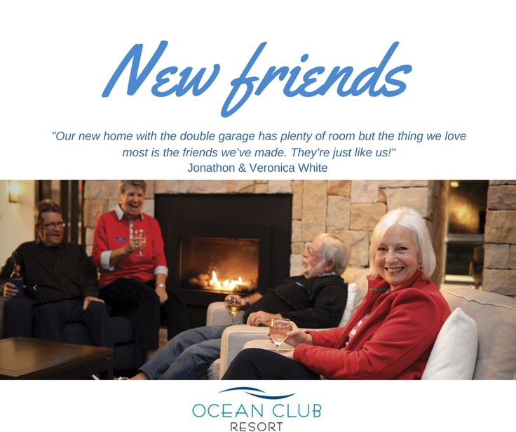 Hear what our residents have to say! Ocean Club Resort will have you finding new, lifelong friends.   Call Karen today on 1800 462 326 if you want to experience the best in your retirement!  #atOCR #OceanClubNSW #OceanClubResort #PortMacquarie #Retirement #RetiredLiving #MidNorthCoast #Australia #LuxuryRetirement #AffordableRetirement #Over50 #GatedCommunity #SeaChange #Downsize #Property #RetirementLiving #ResortLiving #CommunityLiving