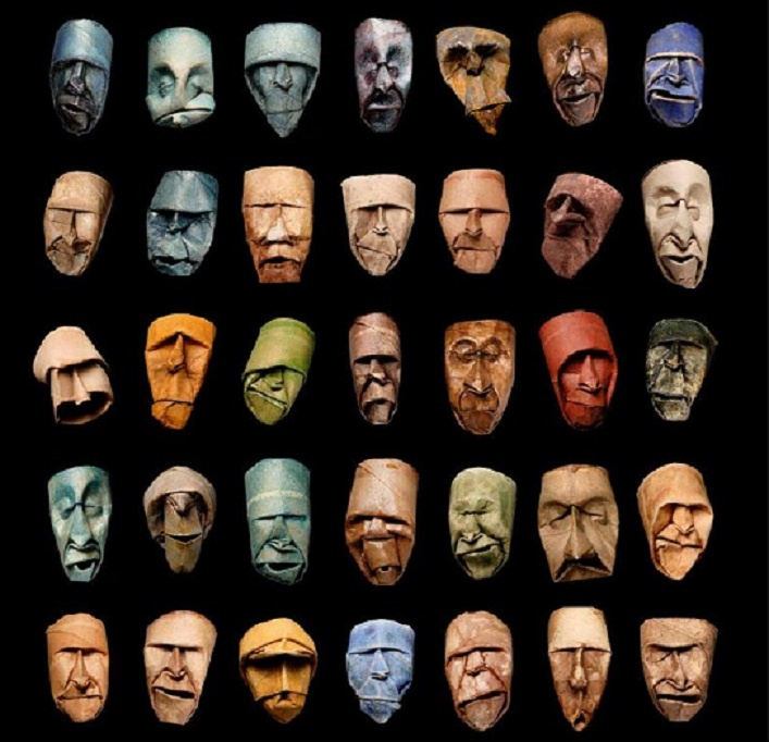 Junior Fritz Jacquet - toilet paper tube masks