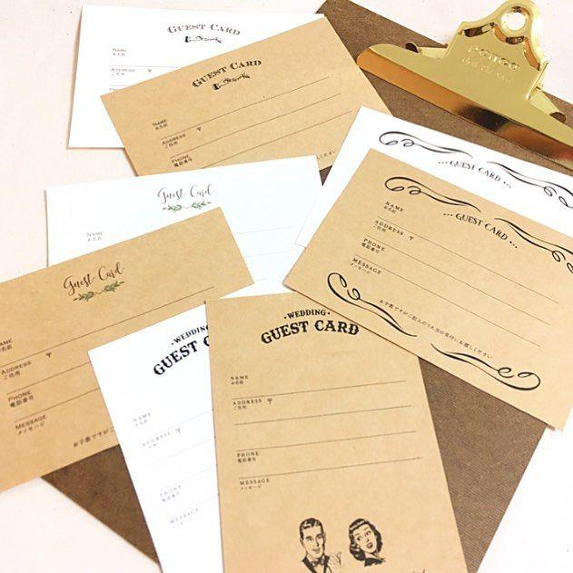 いいね!50件、コメント1件 ― Wedding design × Paper worksさん(@awins.co)のInstagramアカウント: 「午前中は毎日恒例の水遊び👙 お昼寝時間にやっと一息。 * * こちらですがクラフト紙のゲストカード。クラフト紙タイプはあまり見かけないので招待状のアクセントになりそう。 * *…」
