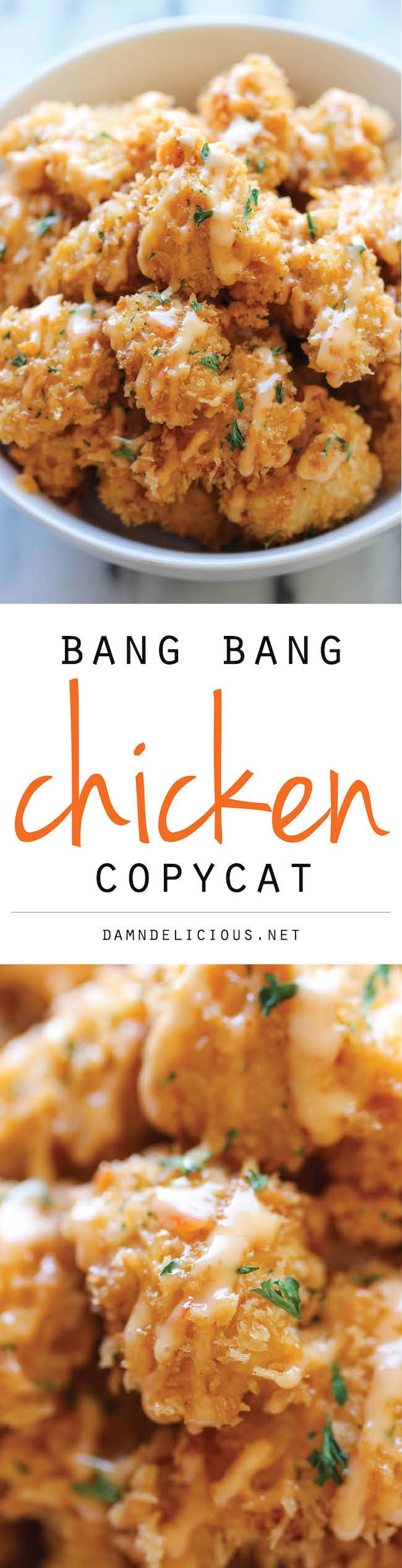 -carb days!Bangs Chicken For, Bang Bang Chicken And Shrimp, Chicken ...