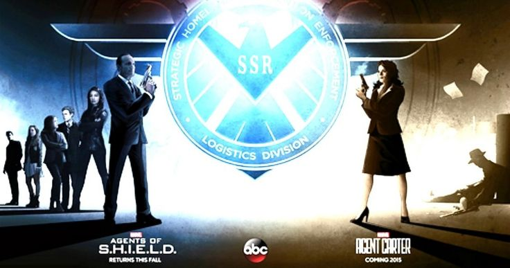 Comic-Con: 'Agent Carter' Meets 'Marvel's Agents of S.H.I.E.L.D.' in New Poster -- Comic book fans will be met by the casts of both ABC Marvel series 'Agent Carter' and 'Agents of S.H.I.E.L.D.' at Comic-Con 2014 on Friday, July 25. -- http://www.movieweb.com/news/comic-con-agent-carter-meets-marvels-agents-of-s-h-i-e-l-d-in-new-poster