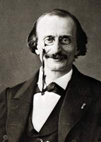 Jacques Offenbach was a German-born French composer, cellist and impresario of the romantic period. He is remembered for his nearly 100 operettas of the 1850s–1870s and his uncompleted opera The Tales of Hoffmann. He was a powerful influence on later composers of the operetta genre, particularly Johann Strauss, Jr. and Arthur Sullivan.