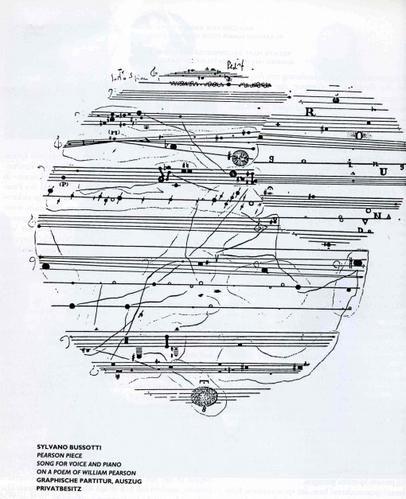 Sylvano Bussotti, pearson piece