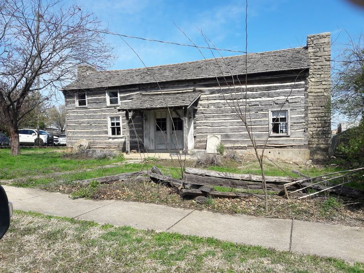 1857 Dillon House And 1st Phelps County Courthouse Rolla