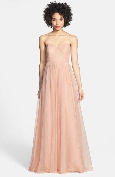 Jenny Yoo 'Annabelle' Convertible Tulle Column Dress (Regular & Plus Size)   Nordstrom