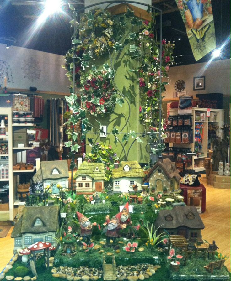 Superior Fairy Garden Contest U2013 Plow Hearth Store In Leesburg, VA Entry. HONORABLE  MENTION:
