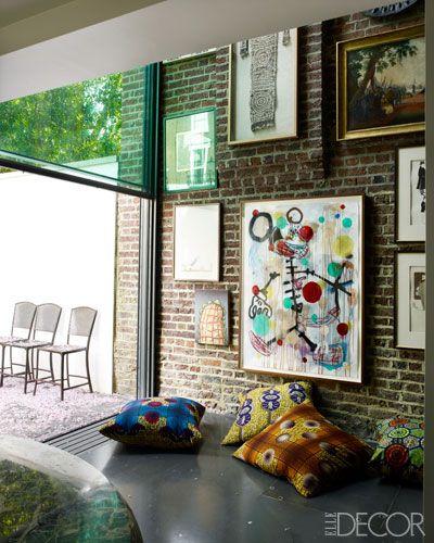 Elle Decor's Fashion Editor Kim Hersov's conservatory