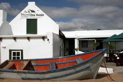 Ons Huisie Entrance Bloubergstrand http://onshuisie.co.za/