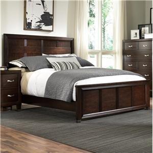 Broyhill Furniture Eastlake 2 King Panel Headboard and Footboard Bed - 4264-252+263+450