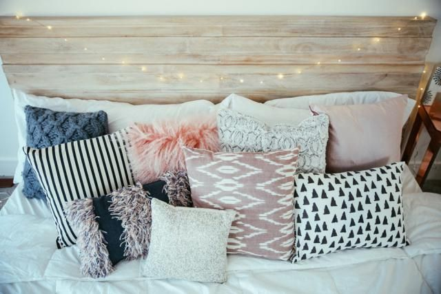 Making your bed the right way not only looks chic and tidy, but it will also help you sleep better.: You Never Wash That Pile of Pillows