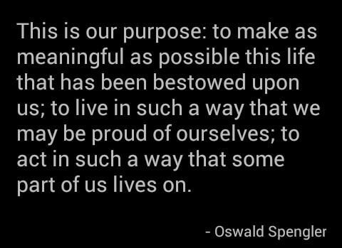 The wise words of Oswald Spengler