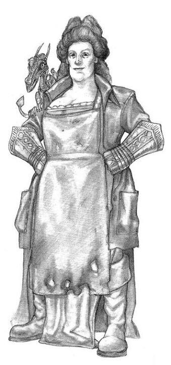 Lady Sybil - Paul Kidby www.paulkidby.net
