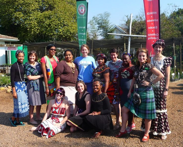 Tomorrow is Heritage Day! 24 Sep 2014 so some of the HACT/Woza Moya staff dressed up to celebrate their heritage!