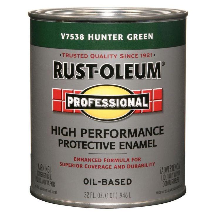 RustOleum Professional Hunter Green Gloss Oilbased