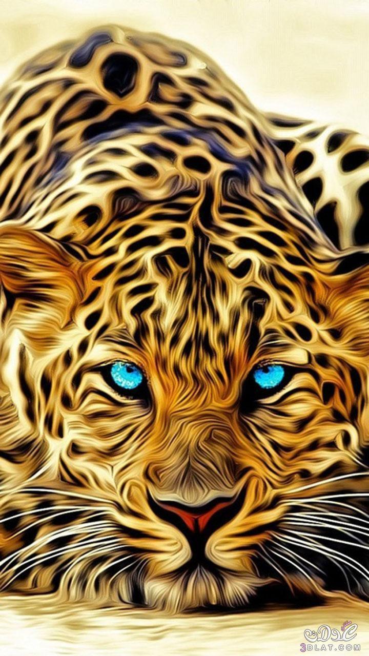 خلفيات موبايل جديدة 2019 خلفيات موبايل 3dlat Net 04 17 Ddca Jaguar Wallpaper Animal Wallpaper Big Cats Art
