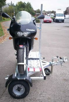 Motor Bike Cycle Scooter Trailers from www.armitagetrailers.com