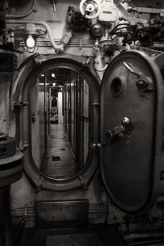 Hard Surfaces - Submarine Door