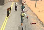 Zombies Don't Run – your car was broken, and you still had only way to survive – to run, having armed with a baseball bat.