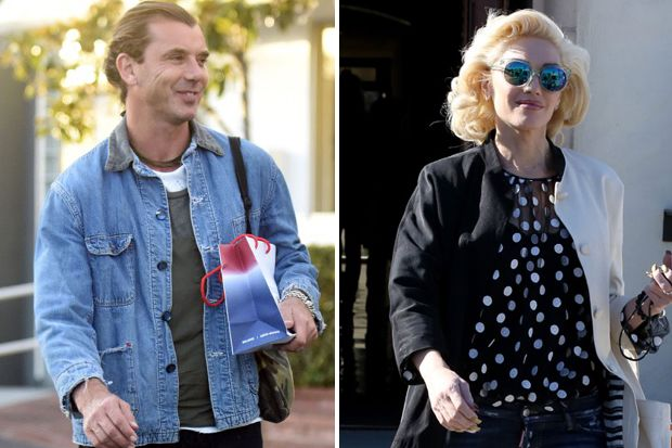 Gwen Stefani and Gavin Rossdale, Separate But Equal Lead This Weekend's Celeb Snaps