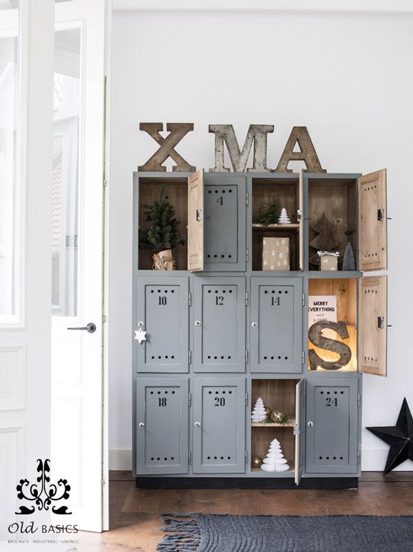 + Locker as advent calendar ... | VT Wonen