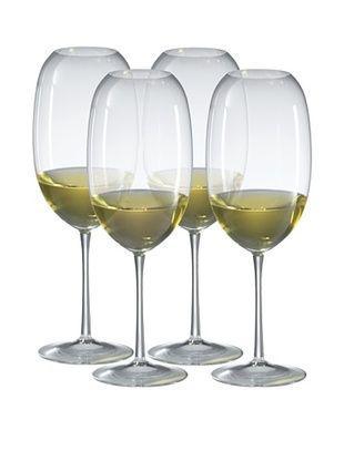 Ravenscroft Crystal Set of 4 Amplifier Barrique White Glasses, 24-Oz.